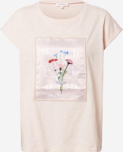 s.Oliver T-Shirt in mischfarben / hellpink, Produktansicht