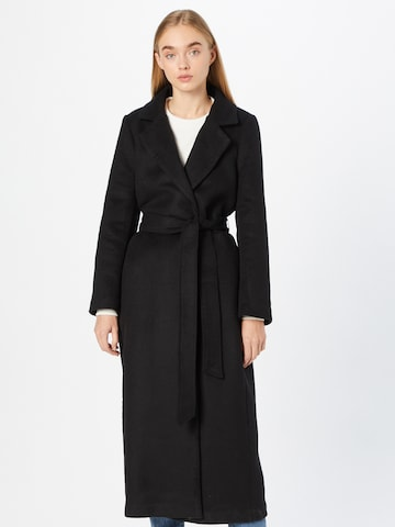 ABOUT YOU x MOGLI Between-Seasons Coat 'Zoe' in Black