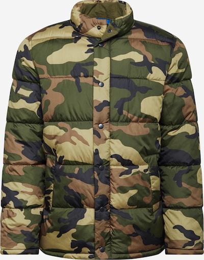 GAP Zimná bunda - kaki / svetlozelená / tmavozelená, Produkt
