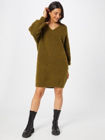 AMERICAN VINTAGE Gebreide jurk 'Verywood' in Groen