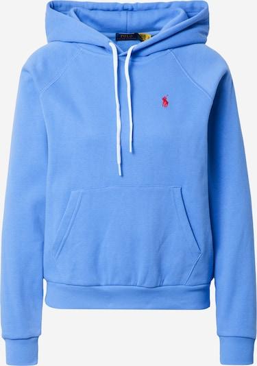 POLO RALPH LAUREN Sweatshirt i røgblå / rød, Produktvisning