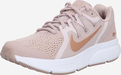 NIKE Sport-Schuhe 'Zoom Span 3' in bronze / rosa / weiß, Produktansicht