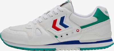 Hummel Sneakers 'Marathona Archive' in Blue / Green / Red / White, Item view
