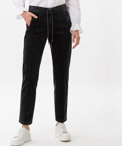 BRAX Hose 'Style Mareen' in grau, Modelansicht