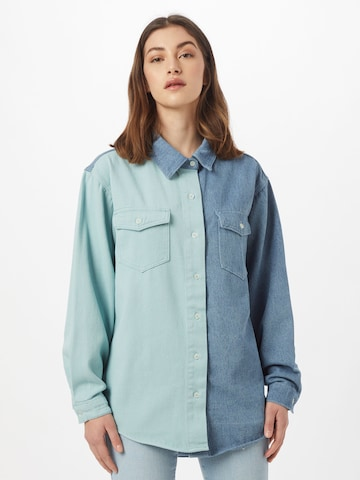 Missguided Blouse in Blue