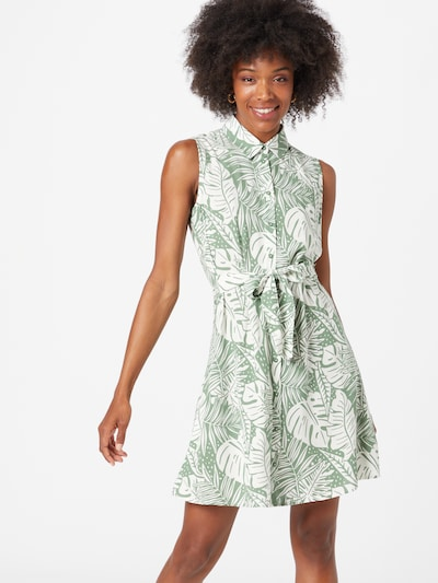 DeFacto Kleid in türkis / weiß, Modelansicht