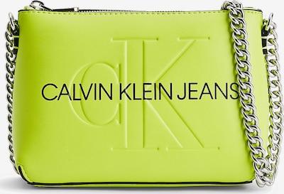 Calvin Klein Jeans Schoudertas in de kleur Neongroen, Productweergave