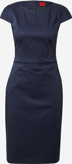 HUGO Jurk 'Keleras' in de kleur Donkerblauw, Productweergave