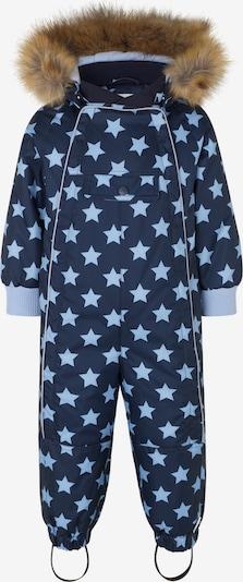 Racoon Outdoor Functioneel pak 'Levi' in de kleur Navy / Lichtblauw, Productweergave