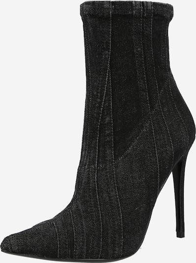 DIESEL Stiefel 'D-YUCCA' in black denim, Produktansicht