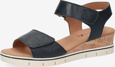 CAPRICE Sandalen in blau, Produktansicht