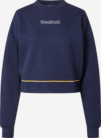 Reebok Sport Bluzka sportowa w kolorze niebieski