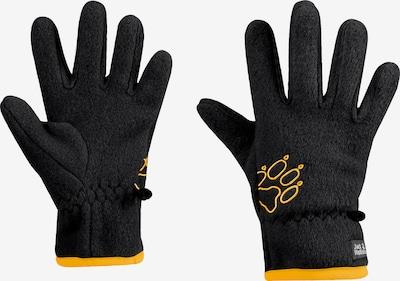 JACK WOLFSKIN Fingerhandschuhe in schwarz, Produktansicht