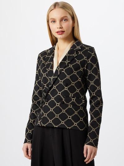 ICHI Blazer in beige / schwarz, Modelansicht