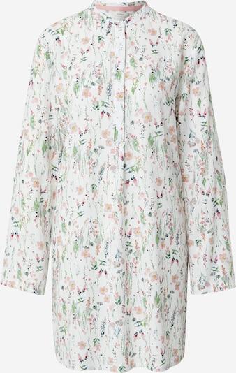 Esprit Bodywear Spalna srajca 'ARMATHA' | mešane barve / off-bela barva, Prikaz izdelka