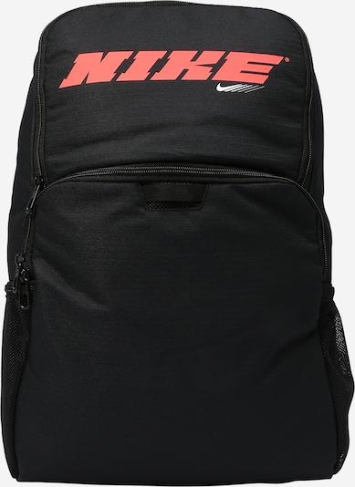 NIKE Plecak sportowy 'Brasilia' w kolorze koralowy / czarny / białym, Podgląd produktu