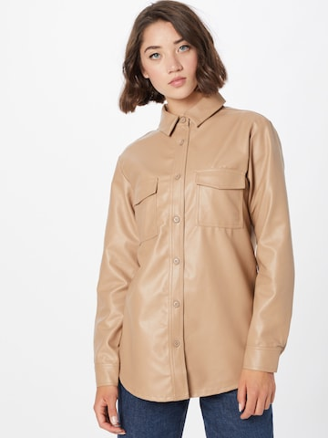 4th & Reckless Blouse 'LISSA' in Beige