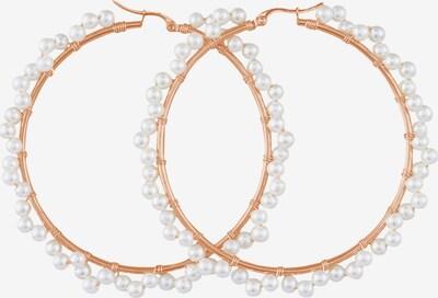 Heideman Boucles d'oreilles 'Fascea ' en or / blanc perle, Vue avec produit