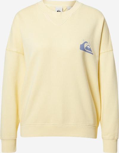 QUIKSILVER Sweat-shirt en jaune clair / violet / blanc, Vue avec produit