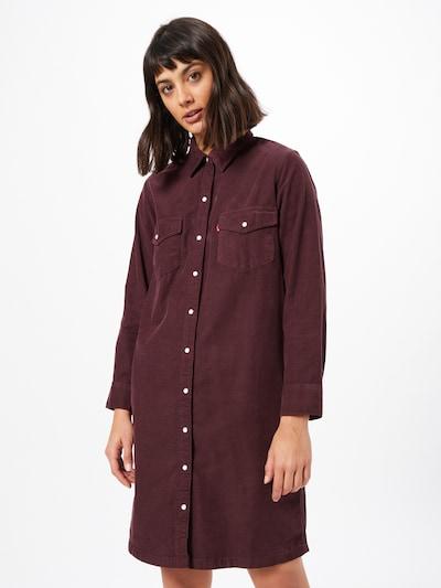 LEVI'S Kleid 'Selma' in weinrot, Modelansicht