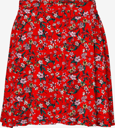 VERO MODA Sukně 'Simply' - zelená / růžová / světle červená / bílá, Produkt