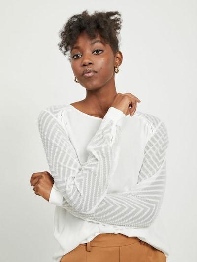 OBJECT Bluse 'OBJZOE' in creme, Modelansicht