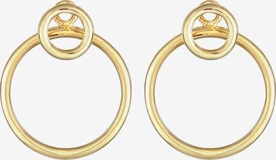 ELLI Ohrringe Ear Jacket, Geo in gold, Produktansicht