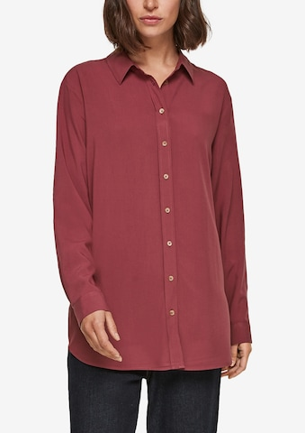 s.Oliver Longbluse in Rot
