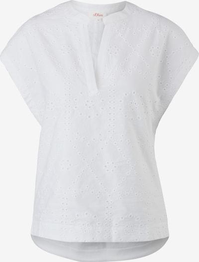Tricou s.Oliver pe alb, Vizualizare produs