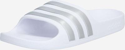 ADIDAS PERFORMANCE Badelatschen 'ADILETTE AQUA' in silber / weiß, Produktansicht