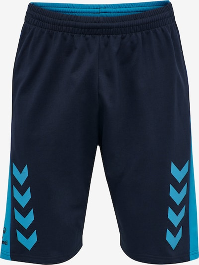 Hummel Sportbroek in de kleur Navy / Hemelsblauw, Productweergave