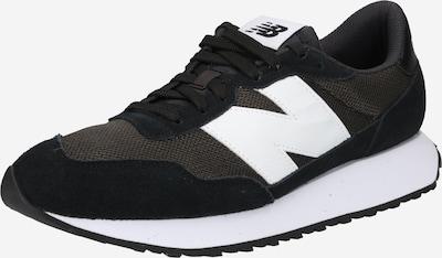 new balance Nízke tenisky - čierna / biela: Pohľad spredu