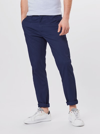 SCOTCH & SODA Chino trousers 'STUART' in navy: Frontal view