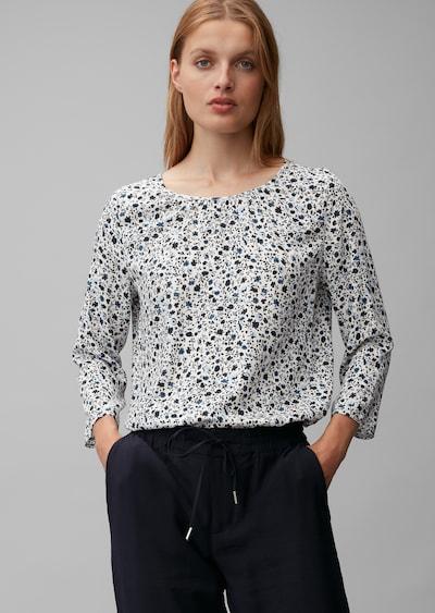 Marc O'Polo Blusenshirt in weiß, Modelansicht