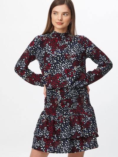 Dorothy Perkins Kleid in blau / rot / schwarz / weiß, Modelansicht