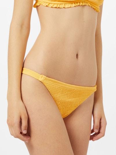 HOLLISTER Долнище на бански тип бикини 'EMEA' в жълто, Преглед на модела