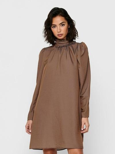 ONLY Kleid in braun, Modelansicht