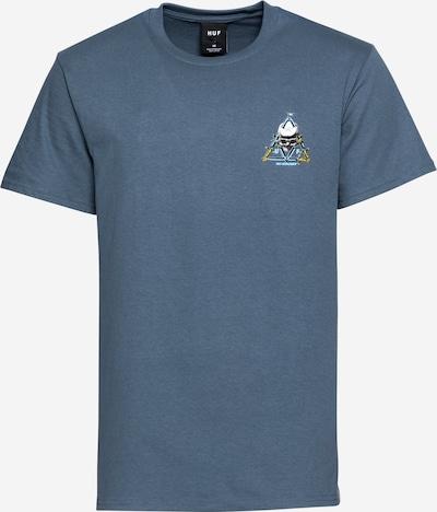 Maglietta HUF di colore blu colomba / colori misti, Visualizzazione prodotti