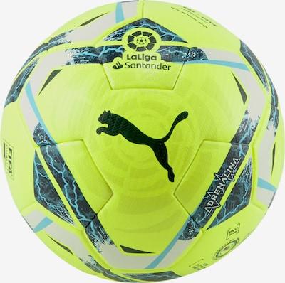 PUMA Ball in blau / neongrün / schwarz, Produktansicht