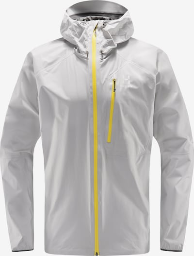 Haglöfs Funktionsjacke  'L.I.M' in gelb / grau / hellgrau, Produktansicht
