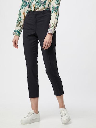 Pantaloni con piega frontale 'Emma' Filippa K di colore navy, Visualizzazione modelli