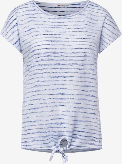 STREET ONE Shirt in blau / weiß, Produktansicht