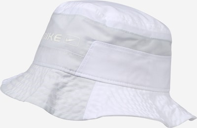 Nike Sportswear Chapeaux en gris clair / blanc, Vue avec produit