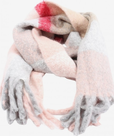 MNG by Mango Fransenschal in One Size in hellgrau / pink, Produktansicht