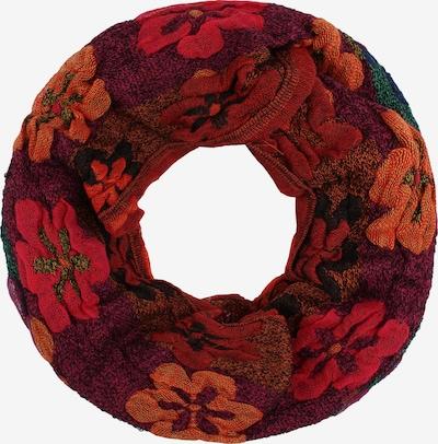 usha FESTIVAL Kružni šal u hrđavo crvena / purpurna / lubenica roza, Pregled proizvoda