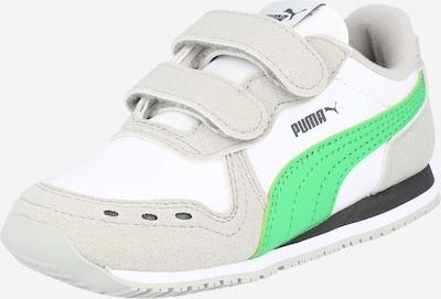 Sportbačiai iš PUMA , spalva - pilka / žolės žalia / balta, Prekių apžvalga