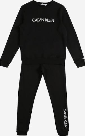 Calvin Klein Jeans Jooksudress, värv must