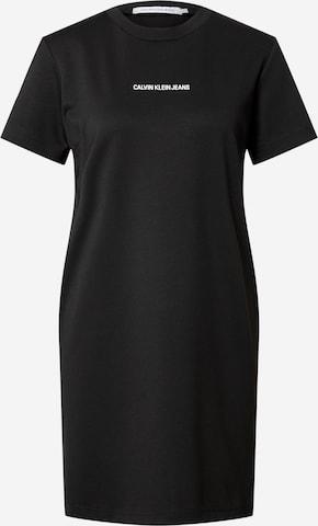 Calvin Klein Jeans Kleid 'MILANO' in Schwarz