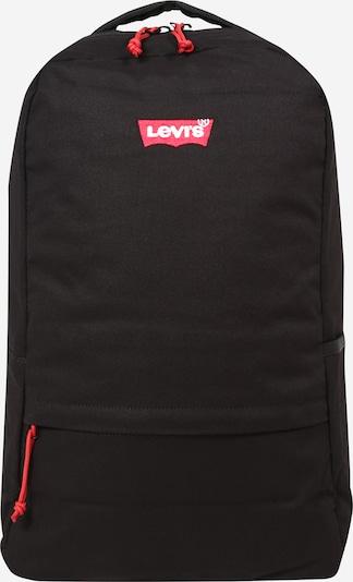 LEVI'S Rugzak in de kleur Grenadine / Zwart / Wit, Productweergave