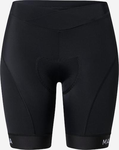 Maloja Sporthose 'Minor' in schwarz / weiß, Produktansicht